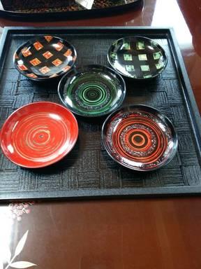 津軽塗の豆皿
